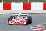 22.04.2012 Barcelona, Spain. GP Masters. Pictures show driver Mark Higson GBR with March 761 at Circuit Catalunya