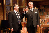"Richard McCabe as ""Jim Hacker, Prime Minister"" and Simon Williams as ""Sir Humphrey Appleby"". Yes, Prime Minister by Antony Jay & Jonathan Lynn opens at the Apollo Theatre in Shaftesbury Avenue with Simon Williams as Sir Humphrey Appleby and Richard McCabe as Jim Hacker, Prime Minister."