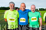Asdee 5k & 10k Runs: Pictured at the start of the annual Asdee GAA club 5k & 10k charity run on Saturday morning last in aid of the Kerry Respite centre were Tom Browne, Castlegrogory, James Tobin, Bantry & Donie O'Sullivan, Killarney.