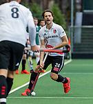 AMSTELVEEN -  Tom Hiebendaal (Adam)   tijdens de hoofdklasse competitiewedstrijd heren, AMSTERDAM-ROTTERDAM (2-2). COPYRIGHT KOEN SUYK