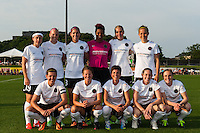 Portland Thorns starting eleven. Sky Blue FC and the Portland Thorns played to a 0-0 tie during a National Women's Soccer League (NWSL) match at Yurcak Field in Piscataway, NJ, on June 22, 2013.
