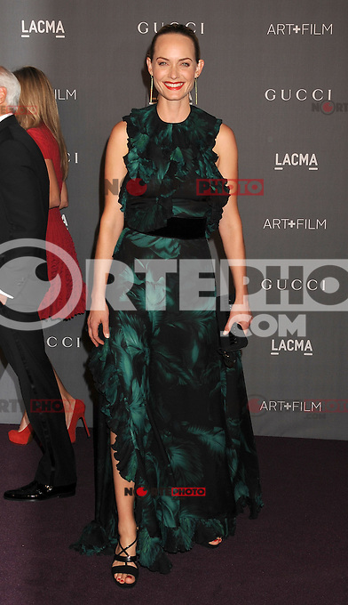 LOS ANGELES, CA - OCTOBER 27: Amber Valletta arrives at LACMA Art + Film Gala at LACMA on October 27, 2012 in Los Angeles, California.PAP1012JP295.PAP1012JP295. /NortePhoto .<br /> &copy;NortePhoto
