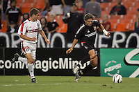 Jaime Moreno, Chicago vs DC United at RFK Stadium in Washington, DC.