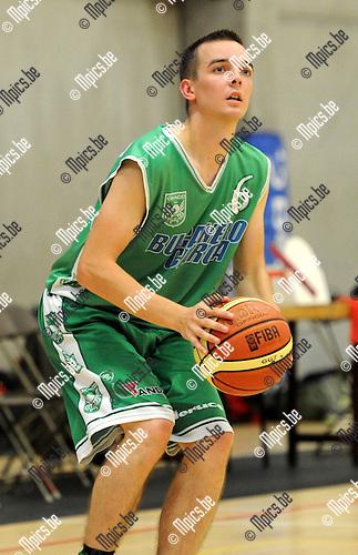 2012-09-04 / Basketbal / seizoen 2012-2013 / Oxaco basket / Hessens Steve..Foto: Mpics.be