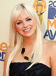 UNIVERSAL CITY, CA. - May 31: Anna Faris arrives at the 2009 MTV Movie Awards at the Gibson Amphitheatre on May 31, 2009 in Universal City, California.