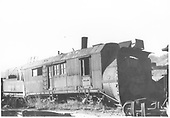 3/4 view of RGS rotary #2 in Ridgway yards.<br /> RGS  Ridgway, CO