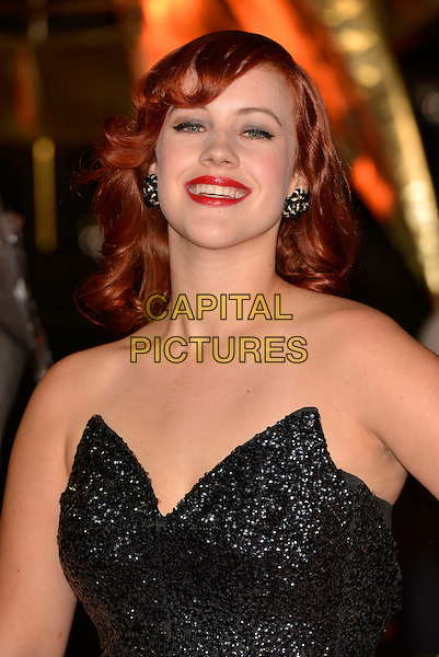 LONDON, ENGLAND - NOVEMBER 11: guest attend the UK premiere of 'The Hunger Games: Catching Fire' at Odeon Leicester Square on November 11, 2013 in London, England<br /> CAP/PL<br /> &copy;Phil Loftus/Capital Pictures