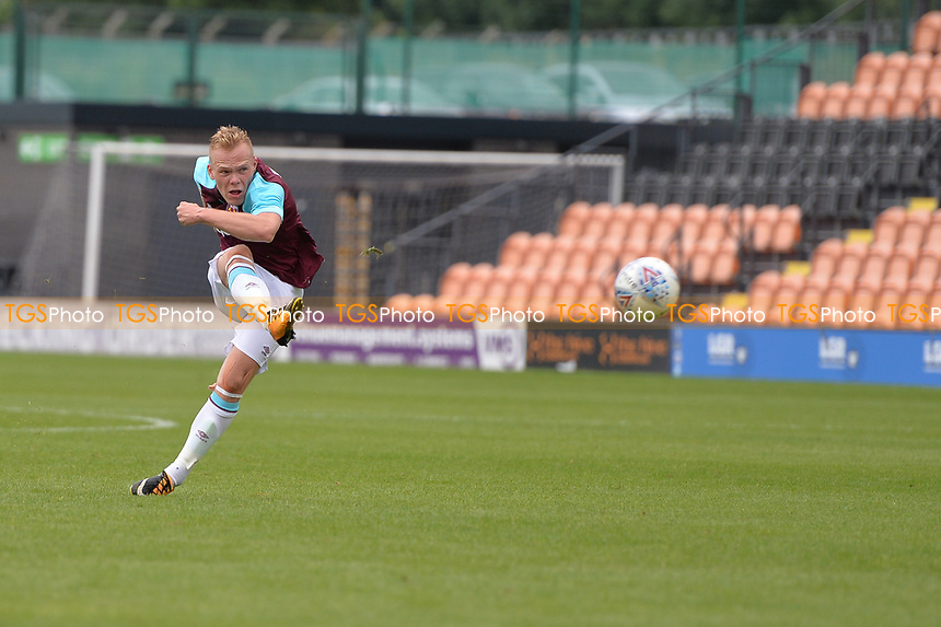 west ham anthony scully shoots during Barnet vs West Ham United, Friendly Match Football at the Hive Stadium on 15th July 2017