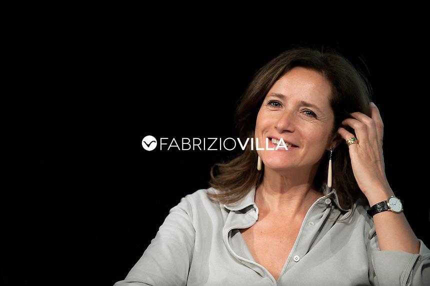 Camilla Baresani, scrittrice.<br /> Milanesiana, Luglio 2013.
