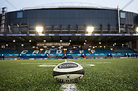 A general view of Cardiff Arms Park, home of Cardiff Blues match ball<br /> <br /> Photographer Simon King/CameraSport<br /> <br /> Guinness Pro14 Round 6 - Cardiff Blues v Dragons - Friday 6th October 2017 - Cardiff Arms Park - Cardiff<br /> <br /> World Copyright &copy; 2017 CameraSport. All rights reserved. 43 Linden Ave. Countesthorpe. Leicester. England. LE8 5PG - Tel: +44 (0) 116 277 4147 - admin@camerasport.com - www.camerasport.co