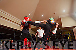 Action from the Kick Boxing fight night in The Devon Inn, Templeglantine last Saturday night.