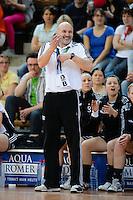 Trainer Leszek Krowicki (VFL) hadert mit dem Spiel
