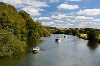 Great Britain, England, Berkshire: River Thames at Pangbourne | Grossbritannien, England, Berkshire: Bootstour auf der Themse bei Pangbourne