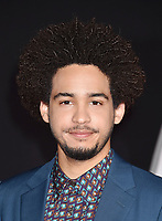 WESTWOOD, CA - FEBRUARY 05: Jorge Lendeborg, Jr. attends the Premiere Of 20th Century Fox's 'Alita: Battle Angel' at Westwood Regency Theater on February 05, 2019 in Los Angeles, California.<br /> CAP/ROT/TM<br /> ©TM/ROT/Capital Pictures