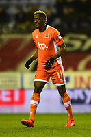 Blackpool's Armand Gnanduillet looks on<br /> <br /> Photographer Richard Martin-Roberts/CameraSport<br /> <br /> The EFL Sky Bet League One - Wigan Athletic v Blackpool - Tuesday 13th February 2018 - DW Stadium - Wigan<br /> <br /> World Copyright &not;&copy; 2018 CameraSport. All rights reserved. 43 Linden Ave. Countesthorpe. Leicester. England. LE8 5PG - Tel: +44 (0) 116 277 4147 - admin@camerasport.com - www.camerasport.com
