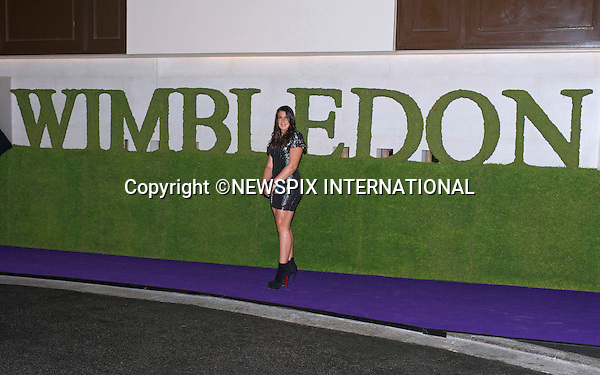 MARION BARTOLI<br /> attends the Wimbledon Winners Ball held at the Intercontinental Hotel, London<br /> Bartoli(France) won the Wimbledon Ladies' Singles title beating Sabine Lusicki 6-1 6-4, in the final.<br /> This was Bartoli's first Grand Slam title.<br /> Mandatory Credit Photo: &copy;Dias/NEWSPIX INTERNATIONAL<br /> <br /> **ALL FEES PAYABLE TO: &quot;NEWSPIX INTERNATIONAL&quot;**<br /> <br /> IMMEDIATE CONFIRMATION OF USAGE REQUIRED:<br /> Newspix International, 31 Chinnery Hill, Bishop's Stortford, ENGLAND CM23 3PS<br /> Tel:+441279 324672  ; Fax: +441279656877<br /> Mobile:  07775681153<br /> e-mail: info@newspixinternational.co.uk