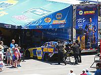 Jun 17, 2018; Bristol, TN, USA; NHRA funny car driver Ron Capps during the Thunder Valley Nationals at Bristol Dragway. Mandatory Credit: Mark J. Rebilas-USA TODAY Sports