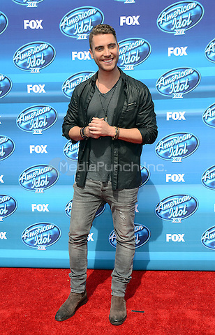 HOLLYWOOD, CA - MAY 13: Nick Fradiani arriving at the 2015 American Idol Season 14 Finale at the Dolby Theatre on May 13, 2015 in Hollywood, California. Credit: PGTW/MediaPunch