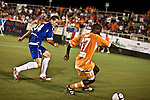 September 12, 2009. Cary, NC..The Carolina Railhawks took over the #2 spot in the league after a 2-1 victory over the Puerto Rico Islanders.. #17 Joseph Kabwe.