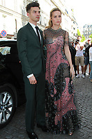 BRIE LARSON ALEX GREENWALD - Show Valentino - Paris Fashion Week Haute Couture 2017/2018 - 05/07/2017 - FRANCE