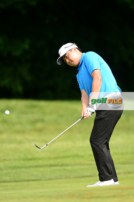 Richard T Lee of Canada during Round 3 of the Lyoness Open, Diamond Country Club, Atzenbrugg, Austria. 11/06/2016<br /> Picture: Richard Martin-Roberts / Golffile<br /> <br /> All photos usage must carry mandatory copyright credit (&copy; Golffile | Richard Martin- Roberts)