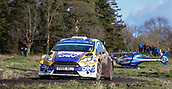 10th February 2019, Galway, Ireland; Galway International Rally; Josh Moffett and Keith Moriarty (Ford Fiesta R5) take 3rd place overall