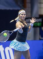 Rotterdam, Netherlands, December 14, 2016, Topsportcentrum, Lotto NK Tennis,  Gabriela van de Graaf  (NED) <br /> Photo: Tennisimages/Henk Koster