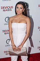 PACIFIC PALISADES, CA - JUNE 17: Eva Longoria attends the Lifetime original series 'Devious Maids' premiere party held at Bel-Air Bay Club on June 17, 2013 in Pacific Palisades, California. (Photo by Celebrity Monitor)