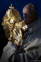 Pope Francis the Feast of Corpus Christi in Rome on June 23, 2019