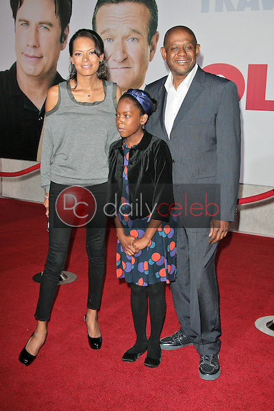 Forest Whitaker and family<br />