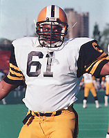 Mike Walker HamiltonTiger Cats. Copyright photograph Scott Grant
