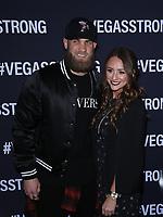 01 December 2017 - Las Vegas, NV -  Bryce Harper.  Vegas Strong Benefit Concert Red Carpet Arrivals at T Mobile Arena. Photo Credit: MJT/AdMedia