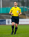 Referee Steven McLean .