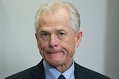 Director of the White House National Trade Council Peter Navarro attends the signing of a presidential proclamation on steel and aluminum tariffs by US President Donald J. Trump, in the Roosevelt Room of the White House in Washington, DC, USA, 08 March 2018. President Trump is imposing tariffs on steel and aluminum imports. A decision to impose the tariffs on Canada or Mexico will not be decided until negotiations on the North American Free Trade Agreement (NAFTA).<br /> Credit: Michael Reynolds / Pool via CNP