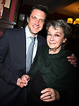 """Dori Berinstein receives the Commercial Theater Institute's Robert Whitehead Award for """"Outstanding Achievement in Commercial Theatre Producing"""" at Sardi's Restaurant in New York City.<br />March 10, 2009<br />pictured: Zoe Caldwell & Raul Esparza"""