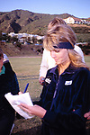 Heather Locklear Attending the Battle Of The Network Stars at Pepperdine University in Malibu, California. March 1, 1984