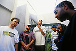 Various portrait sessions of the alternative rappers, Jurassic 5.
