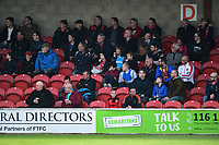 Fleetwood fans look on<br /> <br /> Photographer Richard Martin-Roberts/CameraSport<br /> <br /> The EFL Sky Bet League One - Fleetwood Town v Millwall - Monday 17th April 2017 - Highbury Stadium - Fleetwood<br /> <br /> World Copyright &copy; 2017 CameraSport. All rights reserved. 43 Linden Ave. Countesthorpe. Leicester. England. LE8 5PG - Tel: +44 (0) 116 277 4147 - admin@camerasport.com - www.camerasport.com