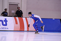 SPEED SKATING: SALT LAKE CITY: 19-11-2015, Utah Olympic Oval, ISU World Cup, training, KC Boutiette (USA), ©foto Martin de Jong