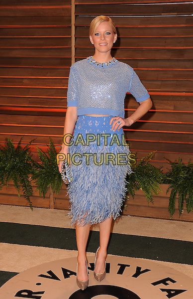 WEST HOLLYWOOD, CA - MARCH 2: Elizabeth Banks arrives at the 2014 Vanity Fair Oscar Party in West Hollywood, California on March 2, 2014.  <br /> CAP/MPI/MPI213<br /> &copy;MPI213/MediaPunch/Capital Pictures