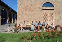 Vendemmia nella comunità di recupero di San Patrignano, Rimini