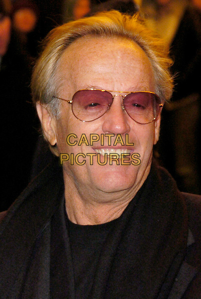 """PETER FONDA.At the Premiere of """"Ghost Rider"""" held at Lowes 42nd Street E-Walk Theater, New York, New York, USA, .15 February 2007..portrait headshot glasses .CAP/ADM/BL.©Bill Lyons/AdMedia/Capital Pictures. *** Local Caption ***"""