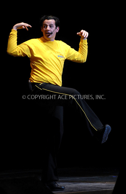 WWW.ACEPIXS.COM . . . . . ....January 20, 2007, New York City. ....The Wiggles children's entertainer Sam Moran performs live during the G'Day USA Aussie Family Concert at New York City Center.....Please byline: KRISTIN CALLAHAN - ACEPIXS.COM.. . . . . . ..Ace Pictures, Inc:  ..(212) 243-8787 or (646) 769 0430..e-mail: info@acepixs.com..web: http://www.acepixs.com