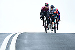 The breakaway during Stage 3 of the 2019 Tour de Yorkshire, running 132km from Brindlington to Scarborough, Yorkshire, England. 4th May 2019.<br /> Picture: ASO/SWPix | Cyclefile<br /> <br /> All photos usage must carry mandatory copyright credit (&copy; Cyclefile | ASO/SWPix)