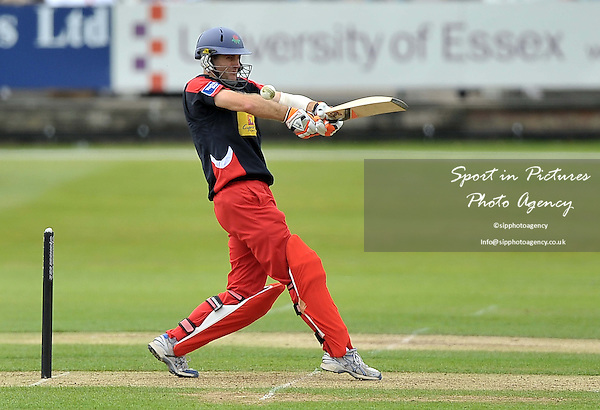 Simon Katich (Lancashire). Essex V Lancashire. Yorkshire Bank 40. The Essex County Ground (ECG). Chelmsford. Essex. 16/06/2013. MANDATORY Credit Garry Bowden/Sportinpictures - NO UNAUTHORISED USE - 07837 394578