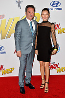 Louis D'Esposito &amp; Guest at the premiere for &quot;Ant-Man and the Wasp&quot; at the El Capitan Theatre, Los Angeles, USA 25 June 2018<br /> Picture: Paul Smith/Featureflash/SilverHub 0208 004 5359 sales@silverhubmedia.com
