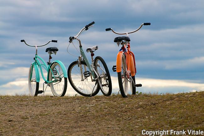 Bicycles at Parker River NWR.