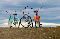 Bicycles at Parker River NWR.