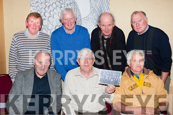 St Brendans former pupils from the class of 1965 are organising a class reunion which will be held on the 17th October front row l-r: Padraig Mac Fhearghusa, Bart Bambury, Dan Dwyer. Back row: Liam Fitzgerald, John Shanahan, Fr Denis O'Mahony and Patrick O'Connell
