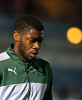 Nathan Blissett of Plymouth Argyle ahead the Sky Bet League 2 match between Wycombe Wanderers and Plymouth Argyle at Adams Park, High Wycombe, England on 14 March 2017. Photo by Kevin Prescod / PRiME Media Images.